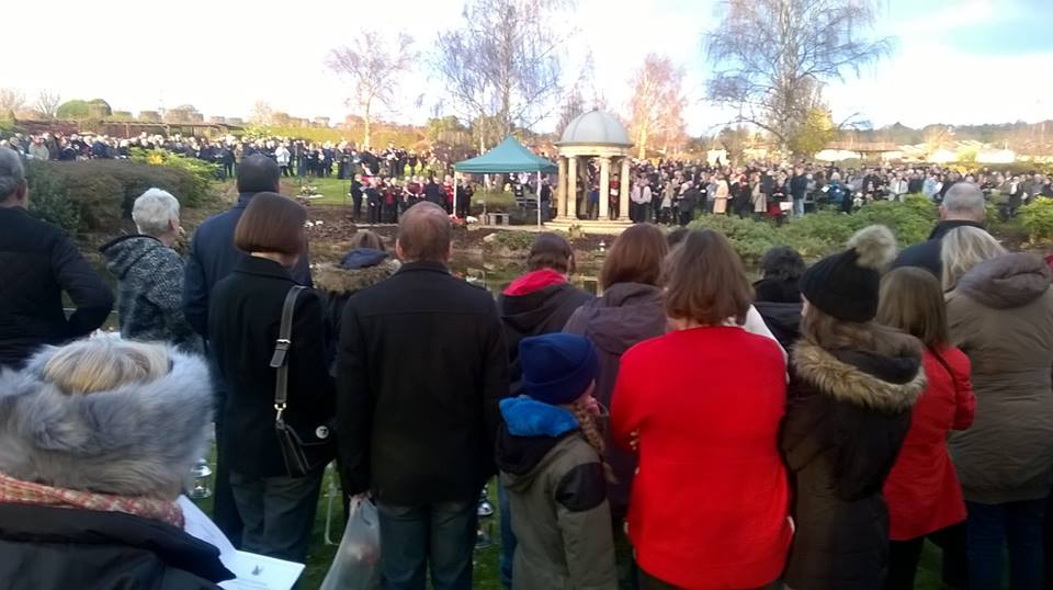 Portchester Memorial Christmas Service 2016